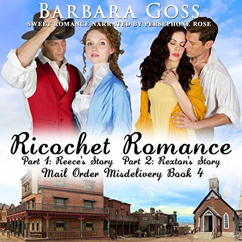 Ricochet Romance: Twin Brothers Find Love audiobook cover art