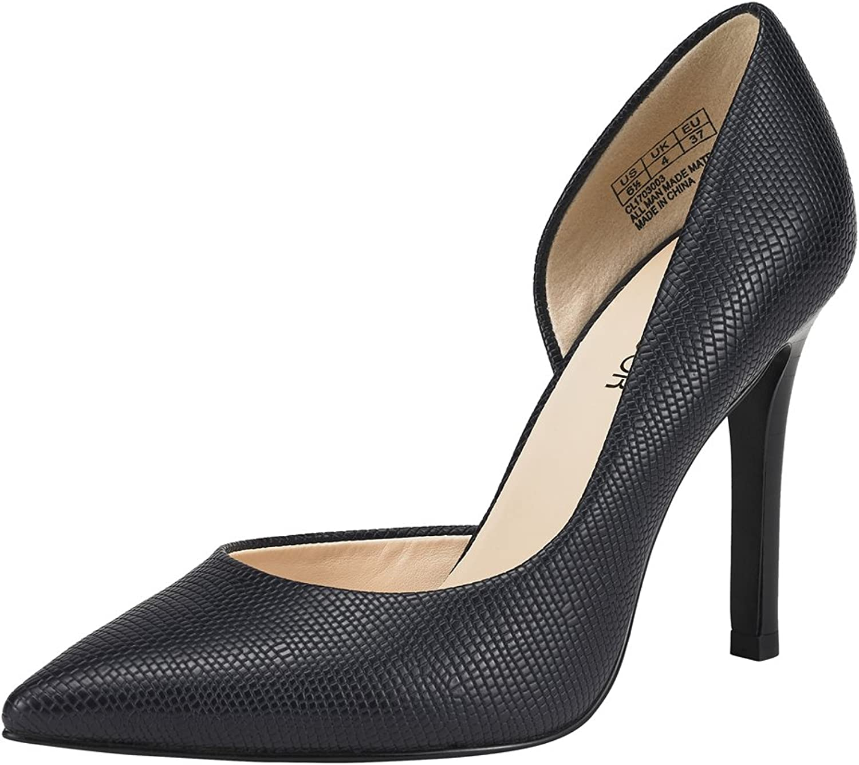 JENN ARDOR Stiletto High Heel shoes for Women  Pointed, Closed Toe Classic Slip On Dress Pumps
