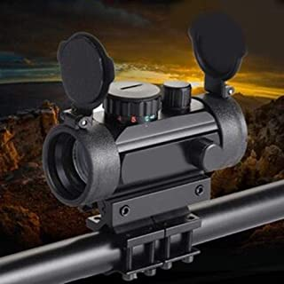 SHI-Y-M-MZJ, Double Barrel táctica del Carril 20mm Picatinny/Weaver Montaje del Barril del Adaptador Ajustable for el Ámbito de Linterna láser Rifle bípode