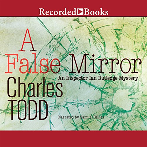 A False Mirror audiobook cover art