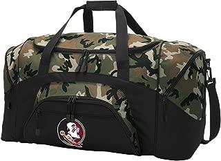 Broad Bay Large FSU Duffel Bag CAMO Florida State University Suitcase Duffle Luggage Gift Idea for Men Man Him!