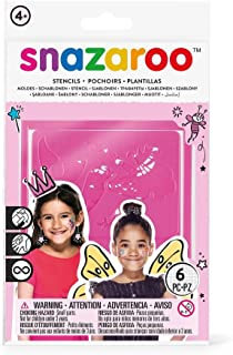 Snazaroo Face Paint Stencils, Set of 6, Fantasy