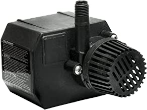 Beckett Corporation 250 GPH Submersible Pond Pump - Pump for Indoor/Outdoor Ponds, Fountains, Water Gardens, Aquariums, and Waterfalls, 7.1' Max Fountain Height, Black