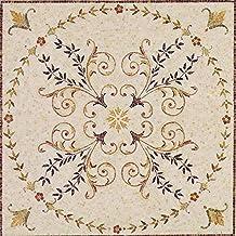 Geometric Stone Tile Mosaic - Samia | Mosaic Art | Mosaic Designs | Mosaic Artwork | Mosaic Wall Art Floor Inlay by Mozaic...