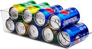 Boîte de rangement pour réfrigérateur Réfrigérateur Organisateur Biquons Clear Plastic Food Stockage Bac Pour Congélateur ...