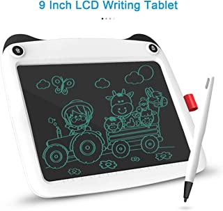 LCD Graffiti Writing Tablet 3D Printing Pen Kit Coming with Printing Accessory,Writing Drawing Board eWriter,Study Tool Gift for Kids,White