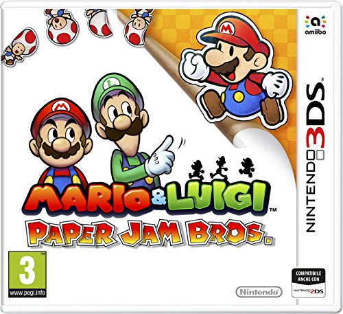 Nintendo 3DS - Mario & Luigi: Paper Jam Bros, Videogioco [Edizione Italiana]