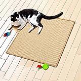 Floordirekt Sisal Fußmatte Teppich Vorleger Kratzteppich Katzenmöbel Kratzmatte Sisalmatte, widerstandsfähig & in vielen Farben und Größen erhältlich (60 x 80 cm, Natur) - 3