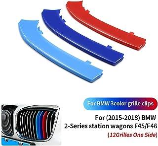 G21 ABS M-Color Inserti a strisce Kidney Grill per la serie 2018-19 3-G20 8 strisce