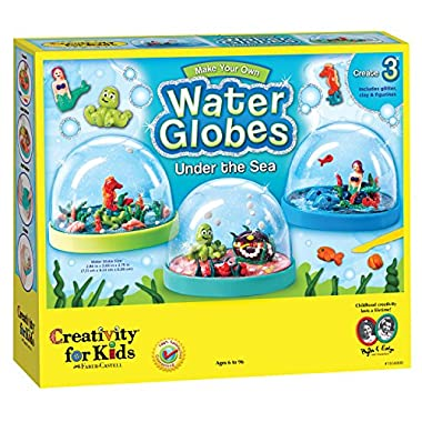 Creativity for Kids Make Your Own Water Globes – Under the Sea Snow Globes