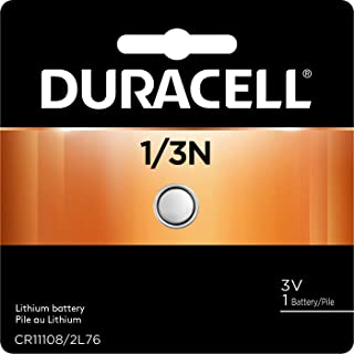 Duracell - 1/3N 3V Lithium Coin Battery - long lasting battery - 1 count