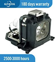 Gzwog POA-LMP135 POA-LMP114 610 344 5120/610 336 5404 Replacement Projector Lamp Bulb with Housing for Sanyo PLV-Z2000 PLV...