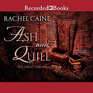 Ash and Quill                   Written by:                                                                                                                                 Rachel Caine                               Narrated by:                                                                                                                                 Julian Elfer                      Length: 9 hrs and 39 mins     3 ratings     Overall 5.0