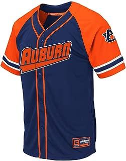 Colosseum Mens Auburn Tigers Wallis Baseball Jersey