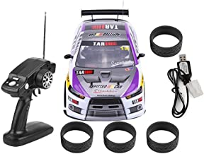 RC Drift Car Toy, 1/10 4WD Control Remoto Drift Coche RC Racing Car Modelo Vehículo de Juguete, con USB Cable(Dos baterías)