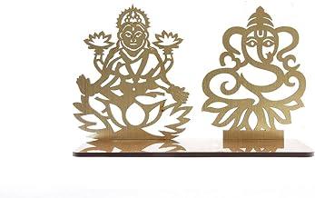 Lakshmi Ganesh Diwali Shadow Diya Tea Light Holder for Home/Office.TeaLight Tlight Candle Holder Stand. Diwali & Festival ...