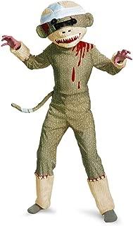 Zombie Sock Monkey Boys Costume, 7-8