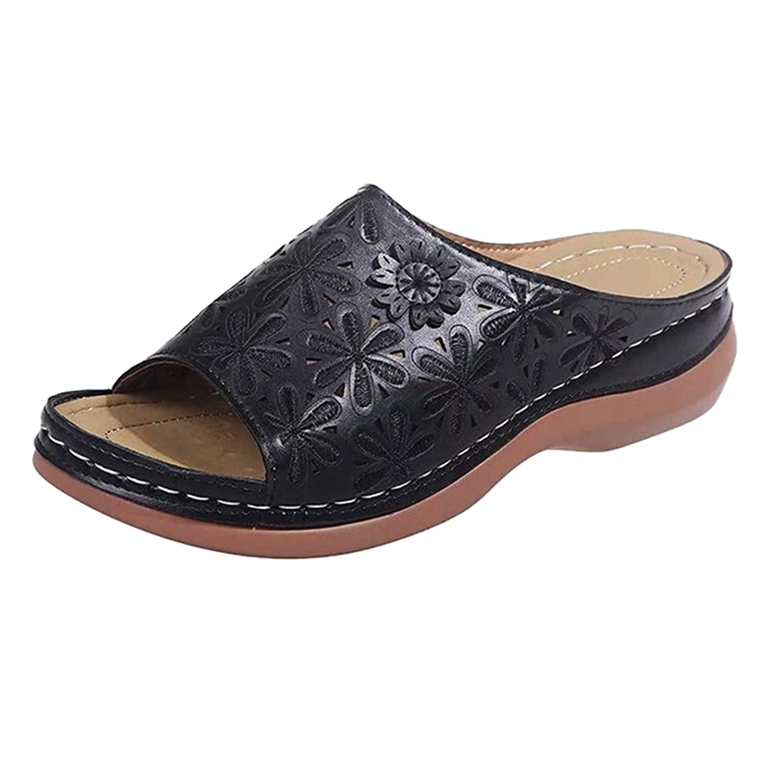 Women's Open Toe Classic Roman Online limited product Sandals Style Stretch free shipping Flatform Sl