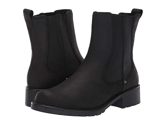 Clarks  Orinoco Club (Black Leather) Womens  Boots