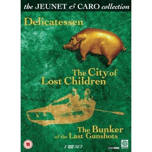 The Jeunet & Caro Collection - 2-DVD Set ( Delicatessen / La cité des enfants perdus / Le bunker de la dernière rafale ) ( Delicatessen / Th [ Origine UK, Nessuna Lingua Italiana ]