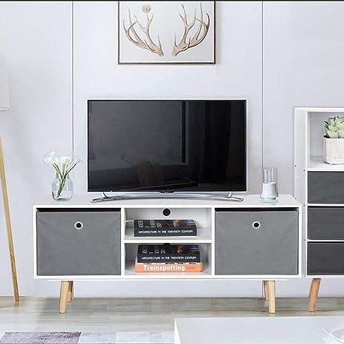 Modern Tv Stand Designs Wooden : Modern tv stands wooden: amazon.com