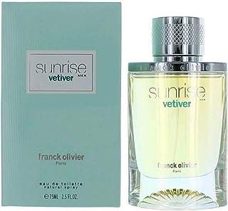 Franck Olivier Sunrise Vetiver For - perfume for men 75ml - Eau de Toilette