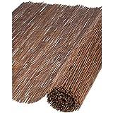 Canisse en osier naturel H2xL5m ep.5mm