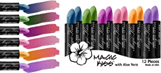 Magic Kiss Lipstick Set Aloe Vera Color Changing Best Seller 12PK MADE IN USA …
