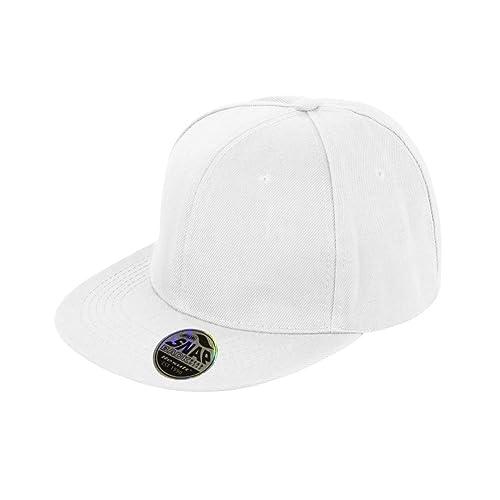 online retailer a6e7b a85af Result Unisex Core Bronx Original Flat Peak Snapback Solid Colour Cap