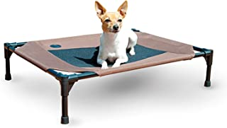 K&H Pet Products Original Dog Cot,  Chocolate/Mesh