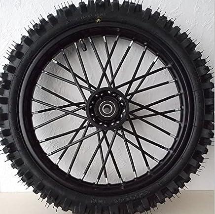 Tencasi 72 piezas moto Dirt Bike Enduro off-road Radios de rueda Spoke Skins para