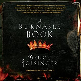 A Burnable Book cover art