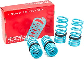 Godspeed LS-TS-NN-0001-B Traction-S Performance Lowering Springs, Reduce Body Roll, Improved Handling, Set of 4