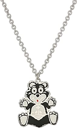 Man Bear Pendant Necklace