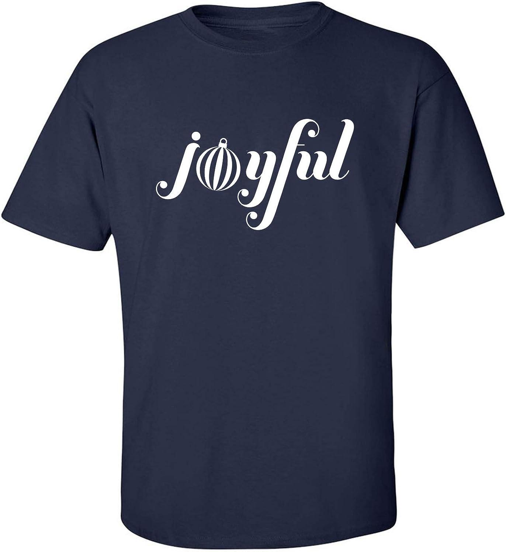 Joyful Adult T-Shirt in Navy - XXXXX-Large