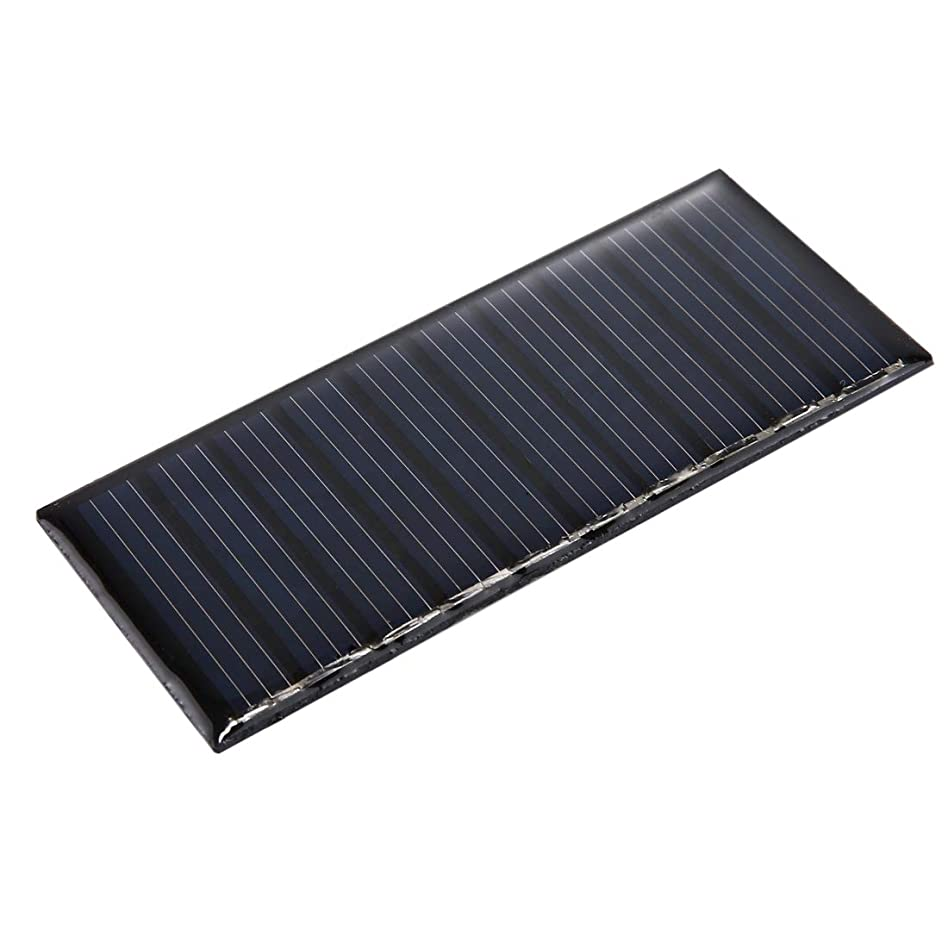 犯す電気技師ダイエットHHM 5V 0.2W 40mAh DIYサンパワーバッテリーソーラーパネルモジュールセル、サイズ:86 x 38mm