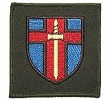 Trainingsunterstützung Kommando Deutschland Stoffabzeichen