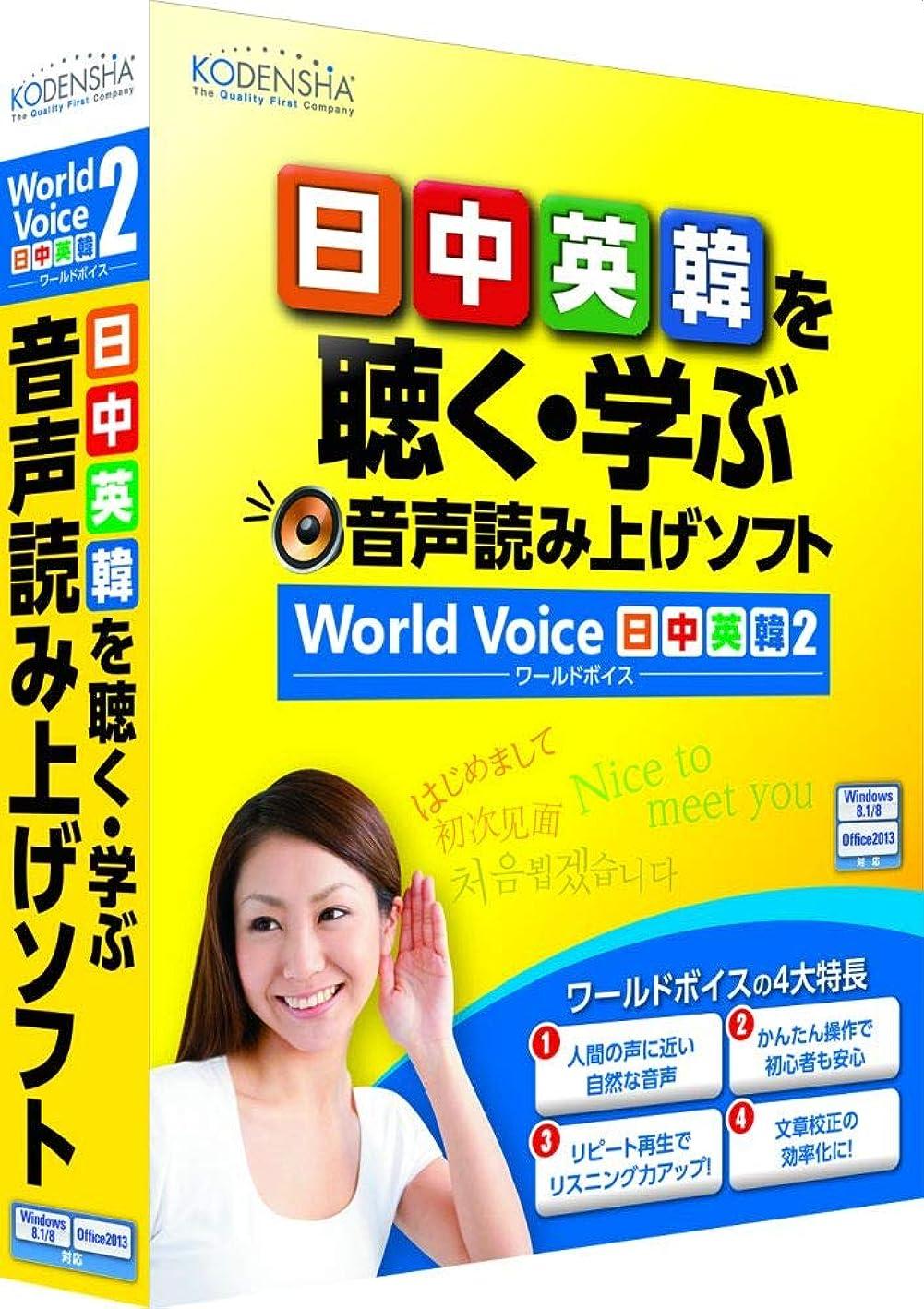 強要彫るカスタム高電社 WorldVoice 日中英韓2