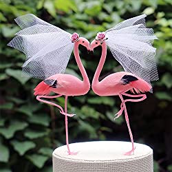 flamingo themed gifts ~ cake topper