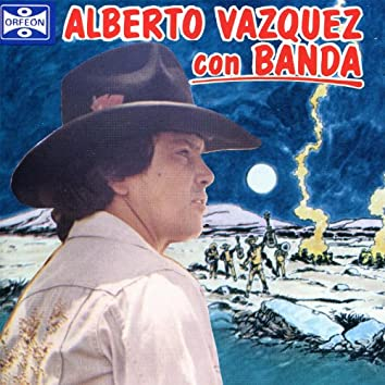 Alberto Vazquez con Banda
