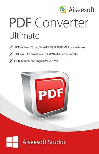 Aiseesoft PDF Converter Ultimate für PC - 2018 [Download]