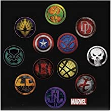 CafePress Marvel Grunge Icons Tile Coaster, Drink Coaster, Small Trivet