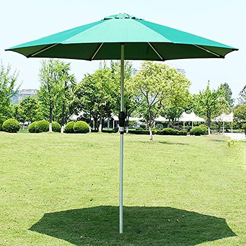 SAMUR Paraguas de Jardín de Tubo de Aleación de 8.36 Pies Al Aire Libre Grande, Sombrilla de Patio Al Aire Libre, Sombrilla de Mesa