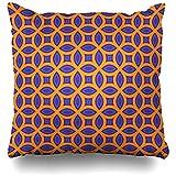 chipo Sofakissen Multicolor Oriental Reisemuster Wandmode Lila Orange Textur Texturen Linien Umrisse...