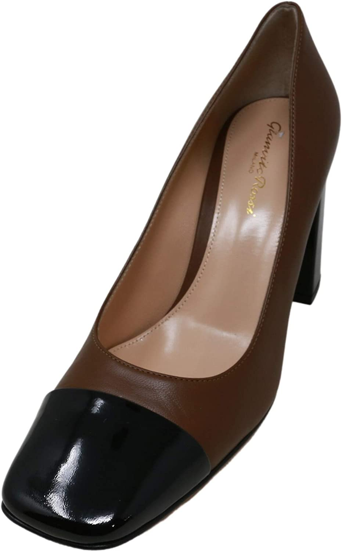 Gianvito Rossi Fashion Women's Nappa Leather Japan Maker New Patent Cap-Toe Pump Slingba