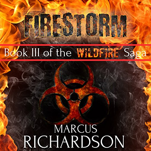 Firestorm audiobook cover art