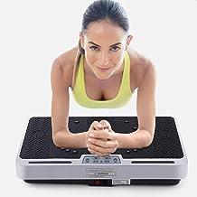 Fitness Vibration Plate Remote Powered Powerful Low Noise Slimming Machine Fat Burning Fitness Machine Foot Magnetic Shiatsu Massager kyman Estimated Price : £ 378,42