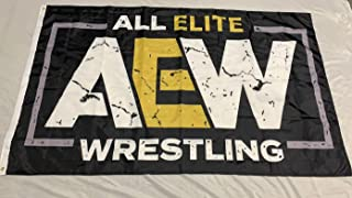 os AEW All Elite Wrestling Flag 5x3'
