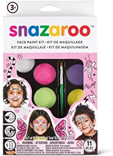 Snazaroo SZ1180104 Fantasy Face Paint Palette Kit