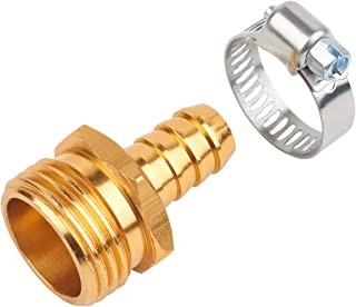 Melnor Metal Male Hose Repair; Fits 1/2